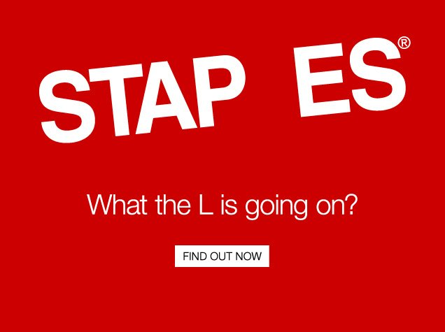 STAP ES. What the L is going  on? Find out now.