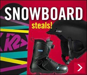 Snowboard Gear on SALE