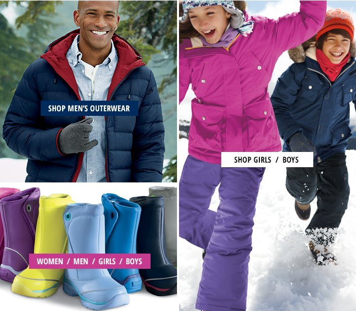 Shop outerwear for the family