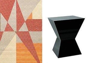 Basic Geometry: Rugs, Art & More