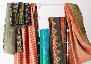Found Objects: Vintage Kantha Throws