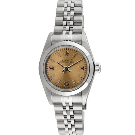 Rolex Oyster Perpetual // Champagne // c.1980-90