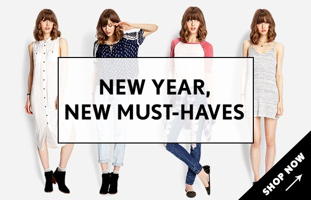 New Year New Must-Haves