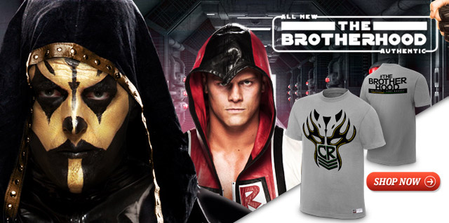 "Goldust & Cody Rhodes ""The  Brotherhood"" Authentic T-Shirt"