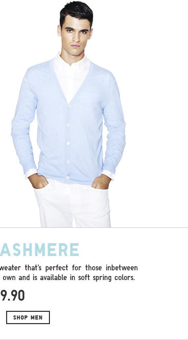 Shop Men Cotton Cashmere