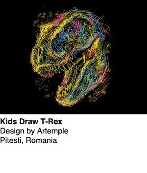 Kids Draw T-Rex