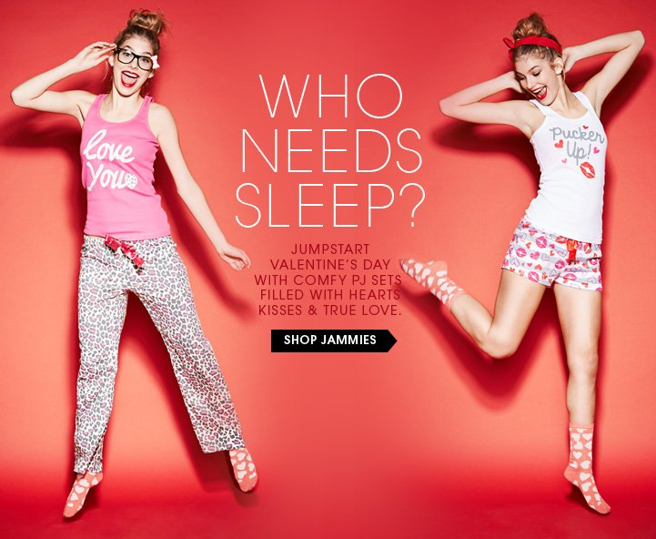 Who Needs Sleep? Shop Jammies
