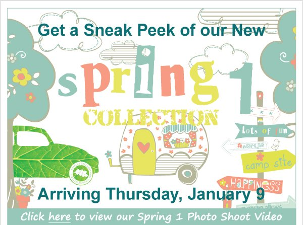 Sneak  Peak! Spring 1 Arrives Thursday + 25% Off Entire Purchase Preferred Customer  Event-1 Day Only, January 9