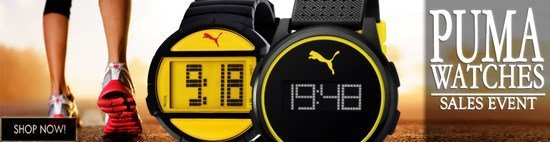 Save up to 63% during the Puma Watches sales event