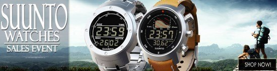 Save up to 48% during the Suunto Watches sales event