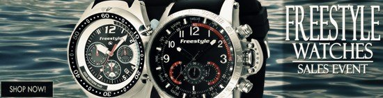 Save up to 47% during the Freestyle Watches sales event