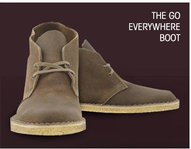 THE GO EVERYWHERE BOOT