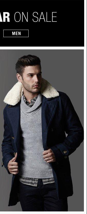 Outerwear On Sale - Men