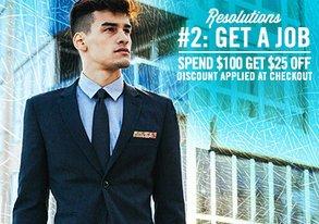 Shop Resolution #2: Get a Job