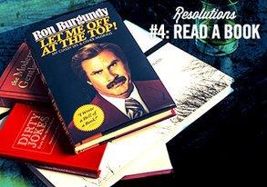 Shop Resolution #4: Read a Book