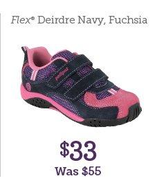 Flex Deirdre Navy, Fuchsia $33 Was $55
