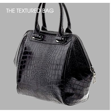 THE TEXTURED BAG