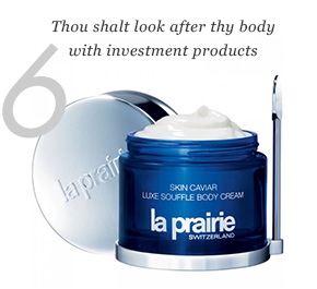 6. Thou shalt look after thy body with investment products.
