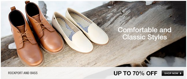 Mens and womens comfortable and classic styles