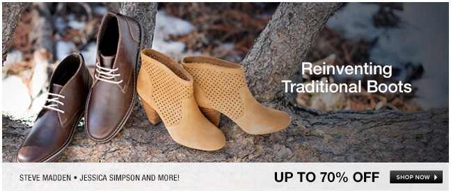 Reinventing Traditional Boots