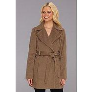 Calvin Klein Luxe Women's Outerwear Walker Coat