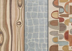 Intriguing Textures: Rugs