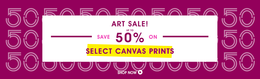 Clearance Sale! 50% Off Select Prints