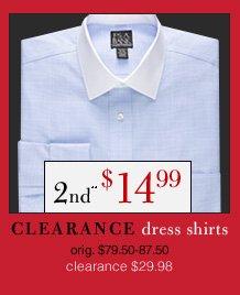 Clearance Dress Shirts - 2nd** $14.99 USD