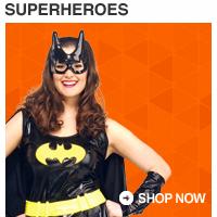 Shop Plus Size Superheroes