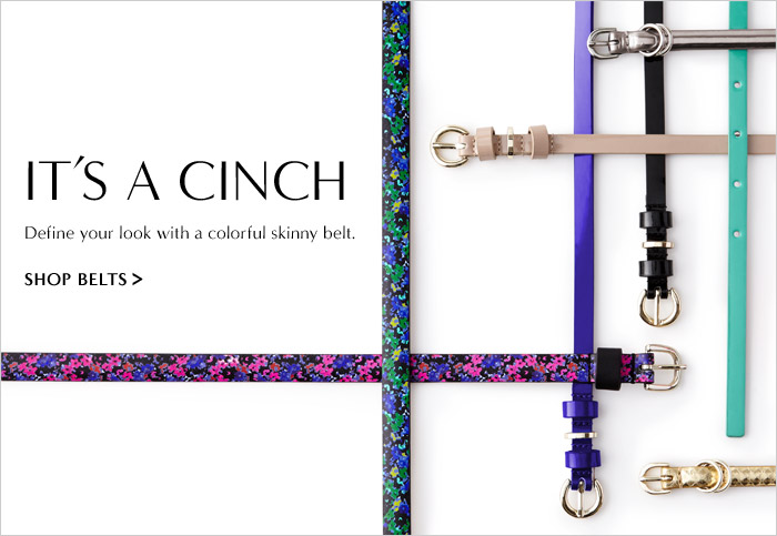 IT'S A CINCH | SHOP BELTS