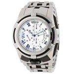 Invicta 12669 Men's Reserve Bolt Zeus Black Bezel Silver Dial Steel Bracelet Chronograph Dive Watch