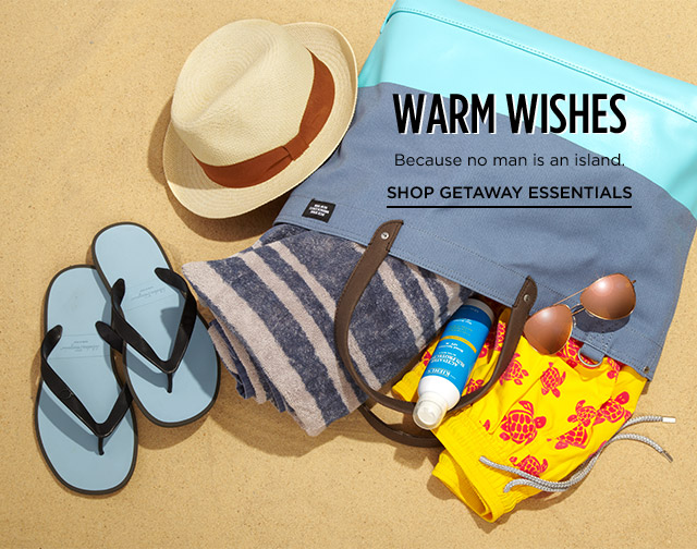 Shop Getaway Essentials