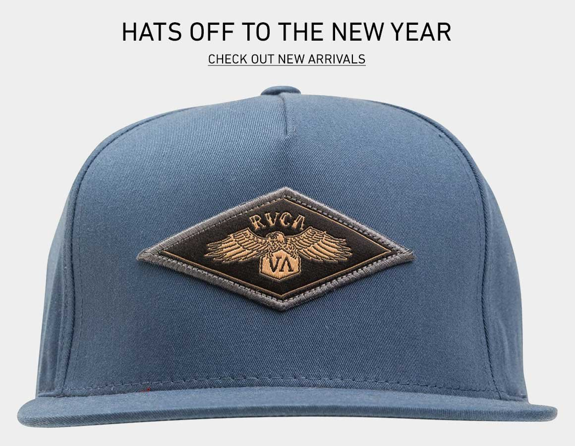 Hats Off To The New Year: Shop New Hats