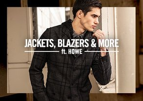 Shop Jackets, Blazers & More ft. Howe