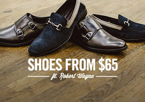 Shop Shoes from $65 ft. Robert Wayne