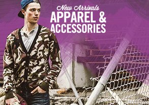 Shop New Arrivals: Apparel from $15