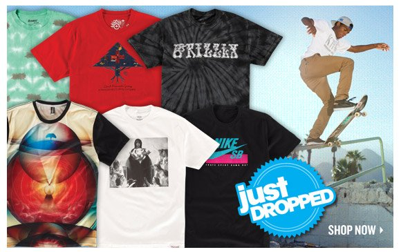 Just Dropped: Fresh Tees