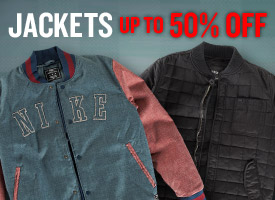 Jackets up to 50% off!