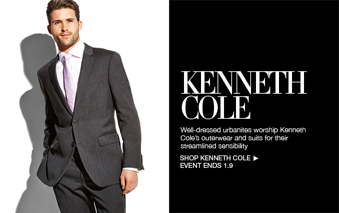 Shop Kenneth Cole Suits & Overcoats - Men's