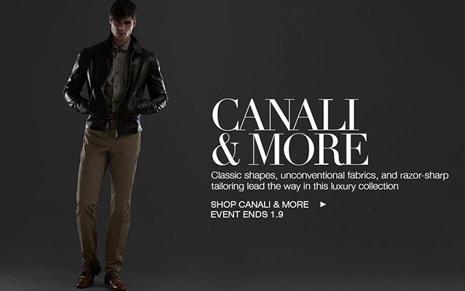 Shop Canali - Men's