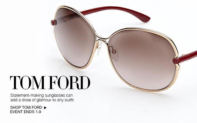 Shop Tom Ford Sunglasses - Ladies & Mens