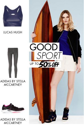 GOOD SPORT - Up to 50% off