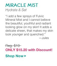 Miracle Mist | Only $15.20 with Discount