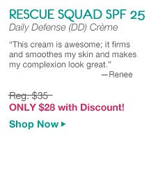 Rescue Squad SPF | Only $28 with Discount