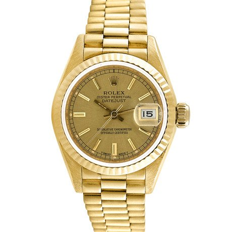 Rolex 18K Yellow Gold President // Champagne // c.1970-80