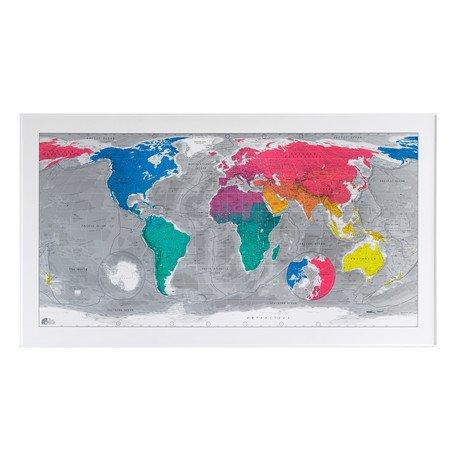 Colour World Map // Version 3