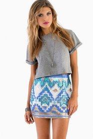 Glitz Bodycon Skirt 40