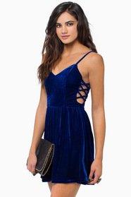 Soft Whispers Velour Dress 39