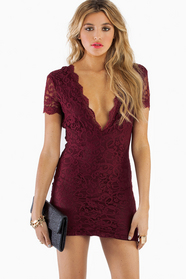 Vdara Lace Bodycon Dress 42