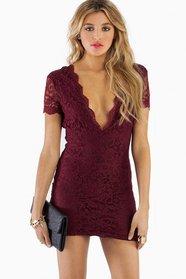 Vdara Lace Bodycon Dress 42